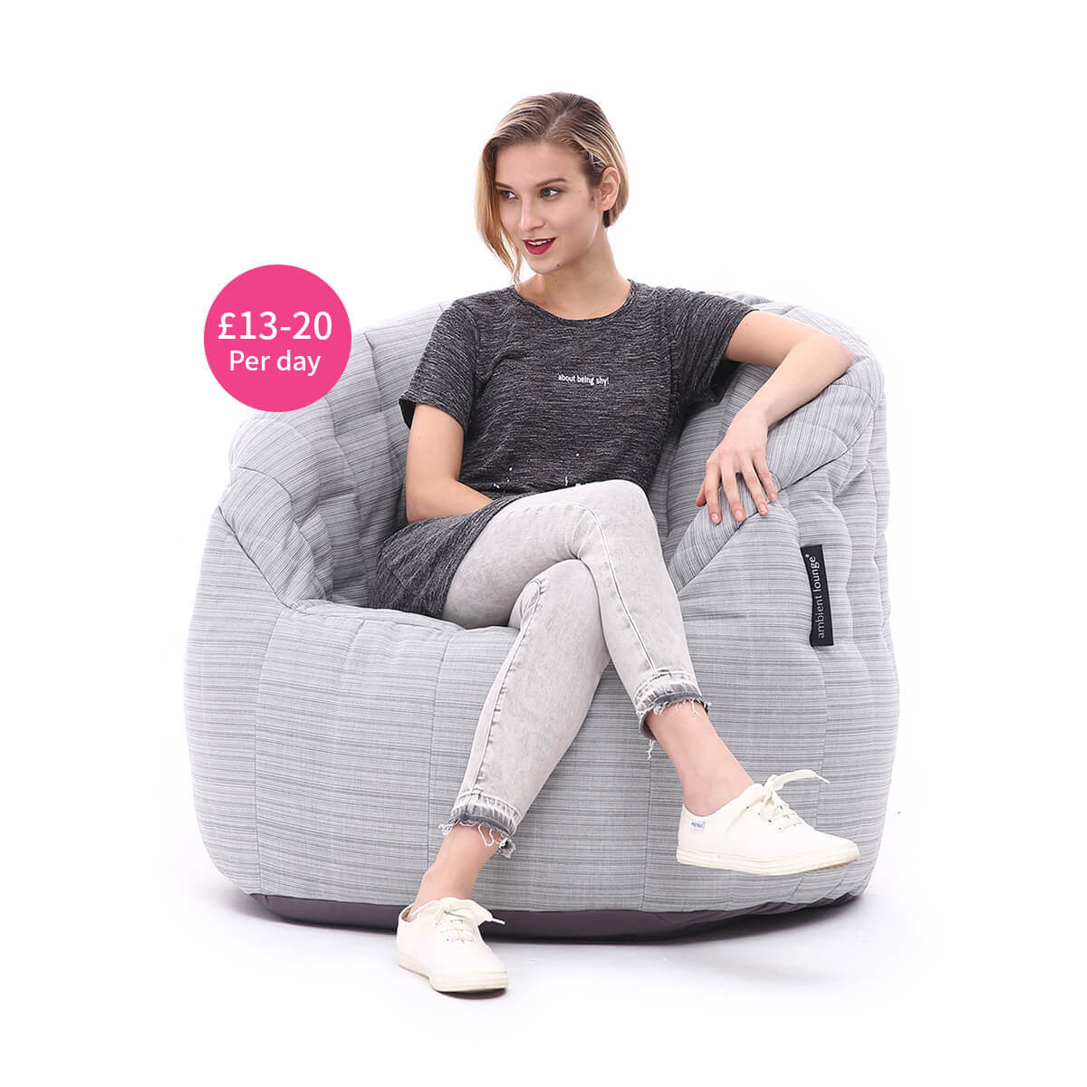 Butterfly beanbag for hire
